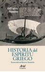 Wilhelm Nestle. Historia del Espíritu griego