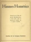 Himnes Homèrics Maragall