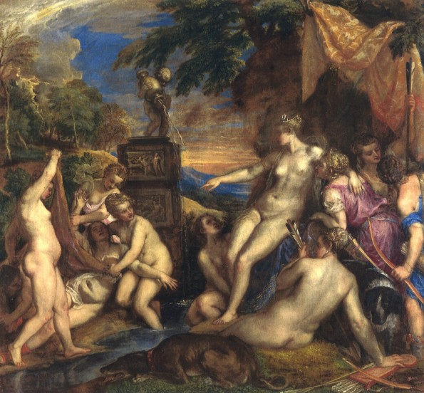 Tiziano - Diana and Callisto (1556-9) - National Gallery of London and National Galleries of Scotland