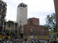 Parròquia de Sant Medir, Barcelona (La Bordeta), seu del Premi de Poesia Amadeu Oller