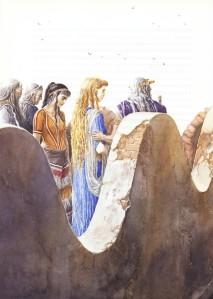 Vaixells negres davant Troia - Helena