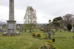 An Gearasdan [Fort William] (Escòcia)The Craigs Burial Ground, Ewen MacLachlan's Obelisk