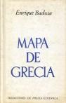 Enrique Badosa - Mapa de Grecia
