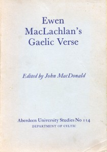 Ewen MacLachlan