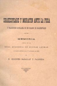 Celestí Barallat - Shakespeare y Moratín