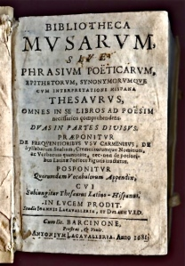 Bibliotheca musarum - 1