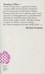 Monica Centanni - Nemica a Ulisse