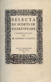 Sonets Shakespeare - Magí Morera