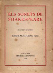 Sonets Shakespeare - Montoriol