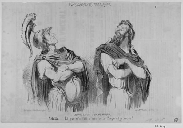 Achille et Agamemnon