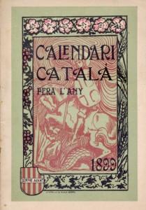 Calendari Català 1899