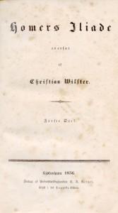 Ilíade - Christian Wilster