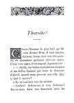 Lemaitre – En marge des vieux livres –Thersite